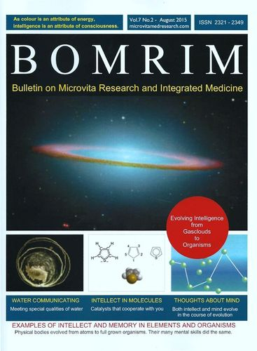 "BOMRIM - Special issue: ""Memory and communication in water"" by Prof. Dr. Bernd Helmut Kröplin"